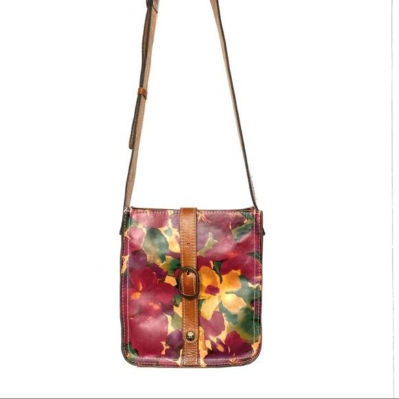 Patricia Nash Venezia Pouch Crossbody Floral